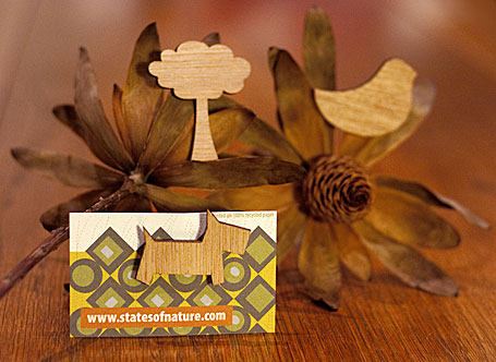 Timber Brooches by States of Nature