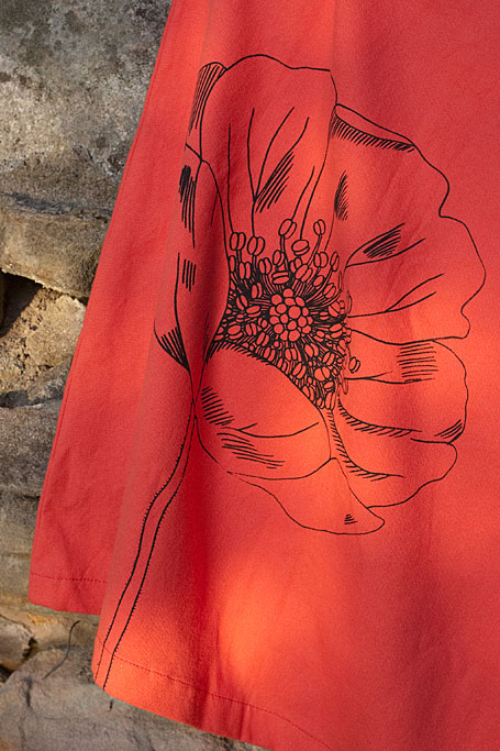 Red flower skirt by States of Nature