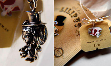 Limited edition pendants by Akina and Zoe Sernack