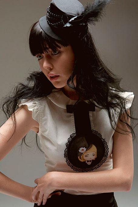 Liliput Tuxedo Top by Akina