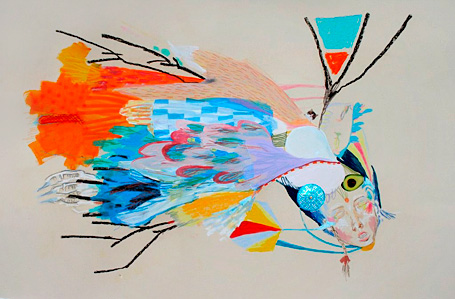 Kaleidoscope Siren by Sydney artist Alex Moon-Age