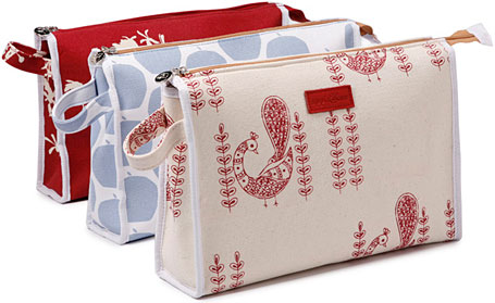 Large Make-Up bag by Apple and Bee