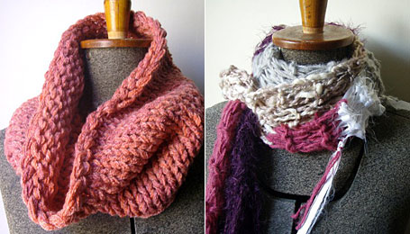 Rose Cowl and Lion Tamer Scarf by Artish