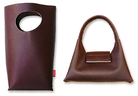 Future Biscuit and Kou Leather Handbags by Chenny K
