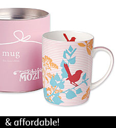 Mug - Red Wren from MOZI