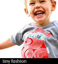 Happy Hippo Applique Kids Tee from Tees 2 Knees