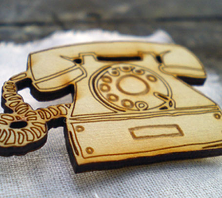 Lasercut wooden jewellery by White Square