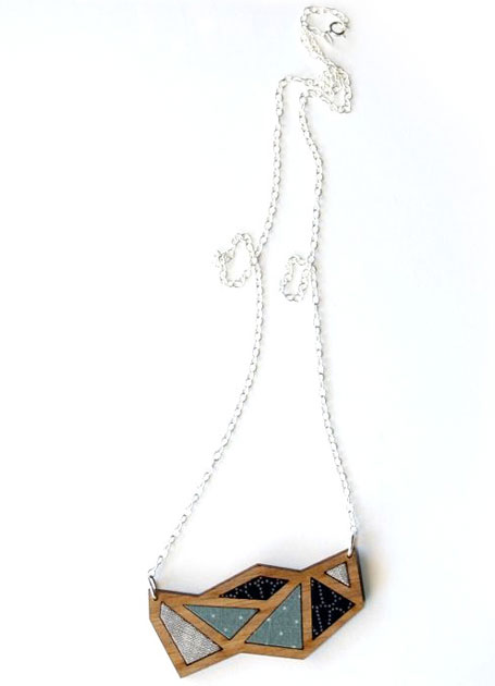 Geometric Necklace from Georgie Love