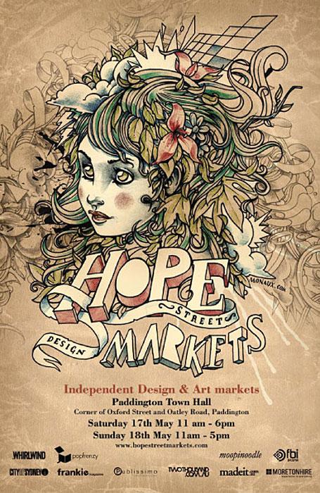 Hope Street Markets Autumn 2008 flyer