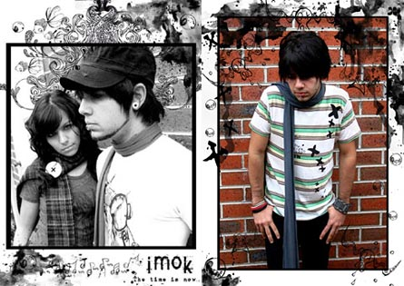 iMok t-shirts, button up scarf, bucket hat - The Time Is Now collection