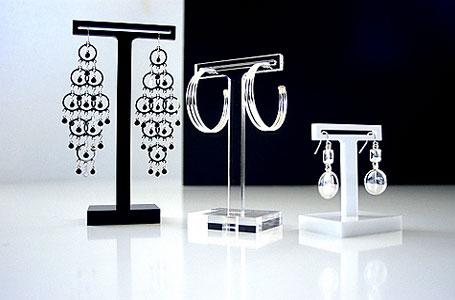 Hudo acrylic earring rise - slot