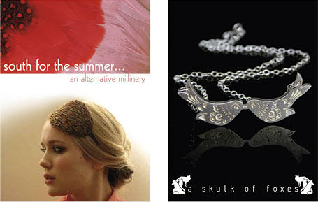 South for the Summer and a skulk of foxes - two of the Australian indie labels participating in the Indie Avalanche of Prizes, a joint project by indie art & design and The Finders Keepers.