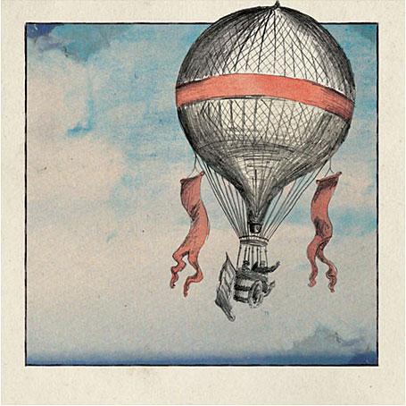 Hot Air Balloon by Kareena Zerefos