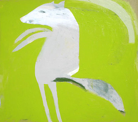Coyote by Australian contemporary artist Karlee Rawkins