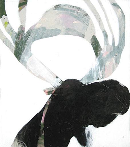 Elk by Australian contemporary artist Karlee Rawkins
