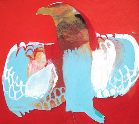 Spirit Bird by Australian contemporary artist Karlee Rawkins