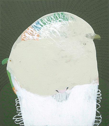 Ewe by Australian contemporary artist Karlee Rawkins