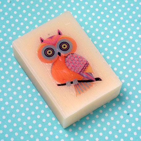 Owl Organic Soap by Lark