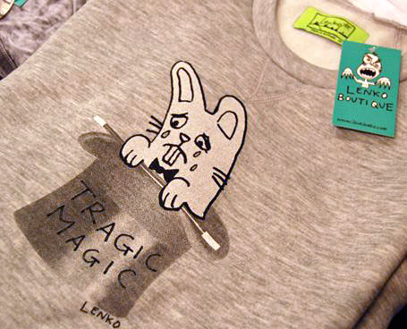Tragic Magic sweatshirt by Lenko