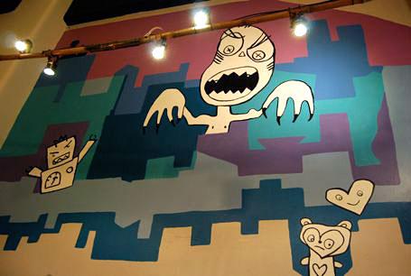 Lenko Zombie Mural
