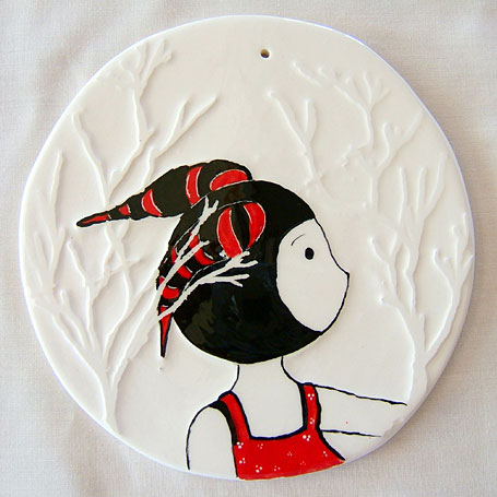 Search 14.5cm Ceramic Disk by Linogirl