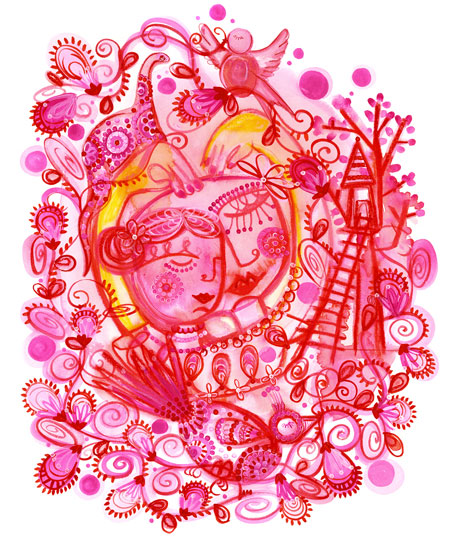 i*heart*you by Madeleine Stamer of Little Circus Design