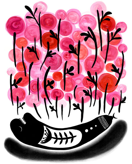 Wake Up Sleepy by Madeleine Stamer of Little Circus Design