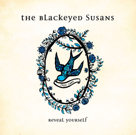 The Blackeyed Susans Reveal Yourself album cover by Madeleine Stamer