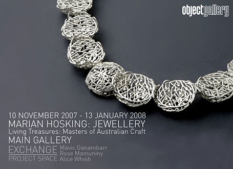 Feature artist marian hosking indie art design marian hosking jewellery at object gallery stopboris Gallery
