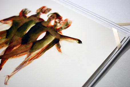 Invitation to Matt Huynh's Alluvia exhibition