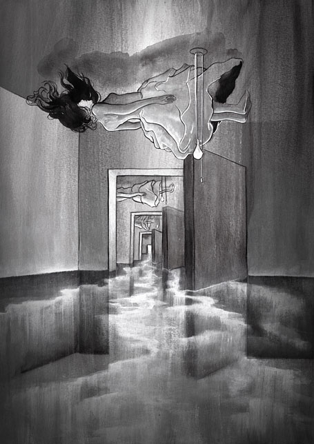Levitation - artwork from Matt Huynh's Asperatus exhibition