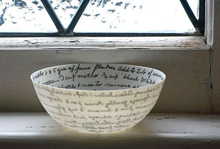 Recipe Bowl by Brisbane-based ceramicist Mel Robson.