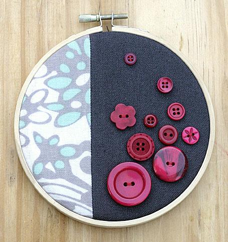 Button Art by Meringue