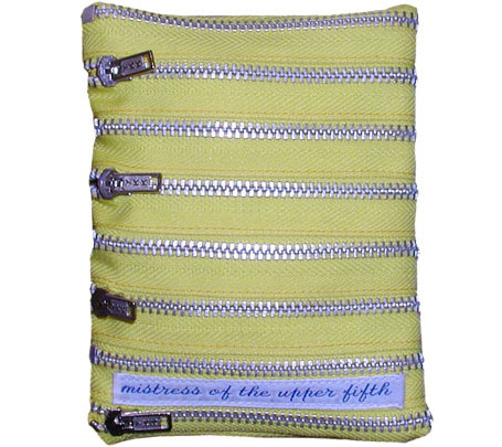 Zip Wallets by Mistress of the Upper Fifth