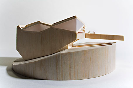 Pitched Roof House by Chenchow Little Architects from the Abundant exhibition at Object