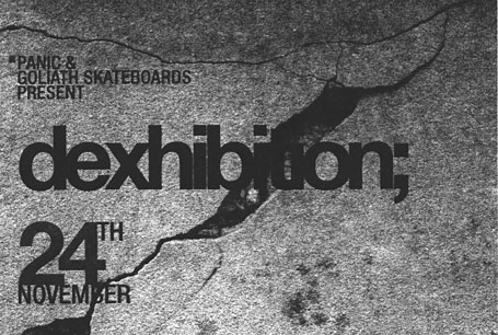 dexhibition flyer