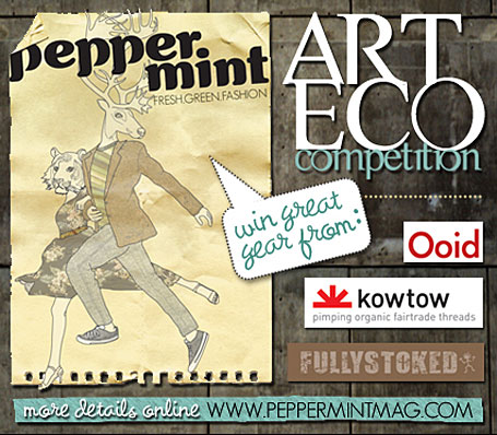 Peppermint Magazine's Eco Art Comp