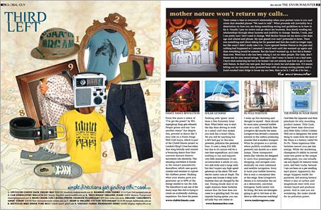 Peppermint Magazine Global Spread