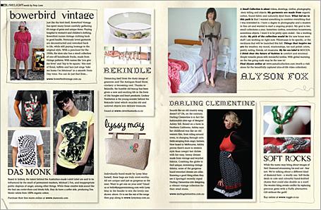 Peppermint Magazine Limelight Spread