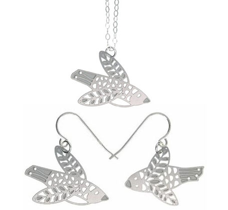 Stainless Steel Flock jewellery by Polli
