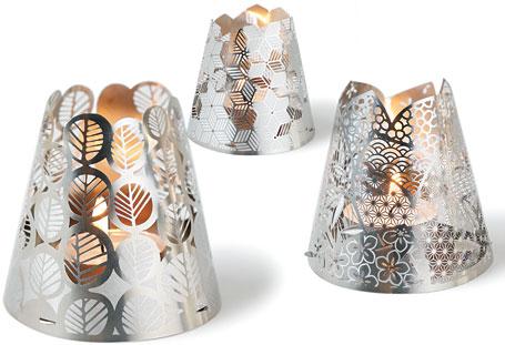 Tea Light Shade Kimonos by Polli