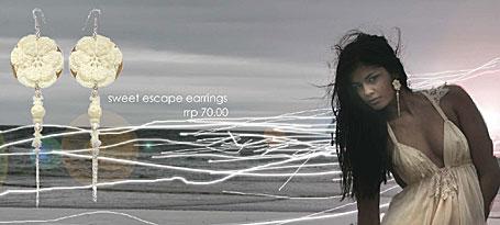Sweet Escape Earrings by Psychoglam
