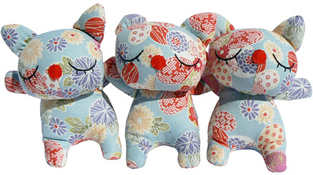 sallymac Japanese cotton cat softies