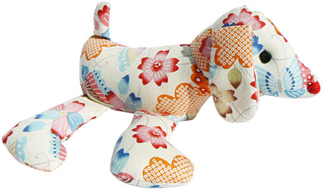 sallymac Japanese cotton Dog softie
