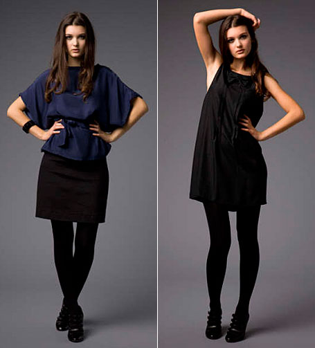 Poketo Skirt and Tux Dress in Black by Secret Squirrel Clothing