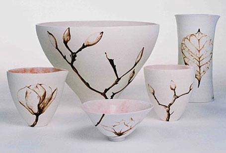 Magnolia Spring Family by Queensland-based ceramicist Shannon Garson.