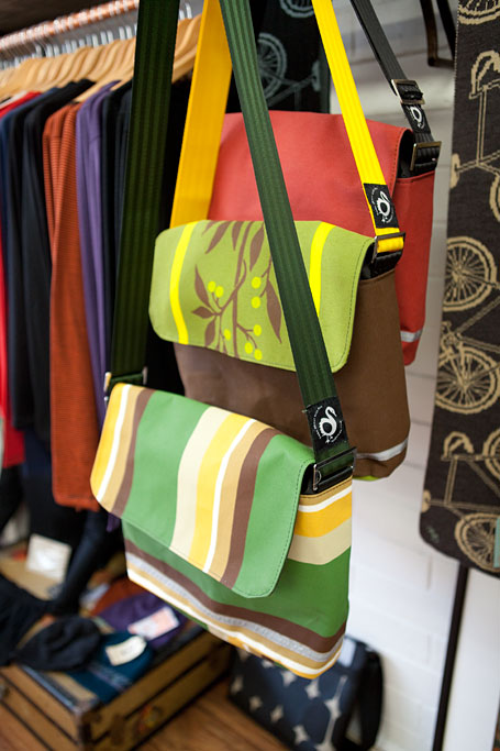 Satchels at Sherman and Betty, Katoomba, Blue Mountains NSW