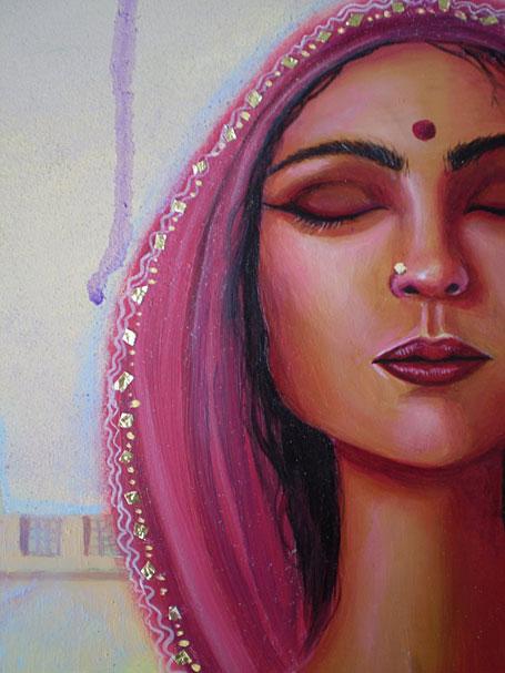 Painting by Alisha Ball