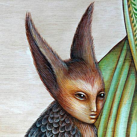 Creature detail by Nadia Turner (Wayward Harper)