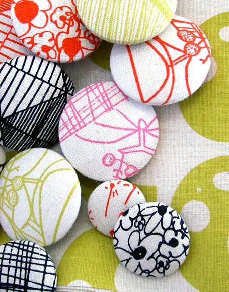 Buttons by Umbrella Prints